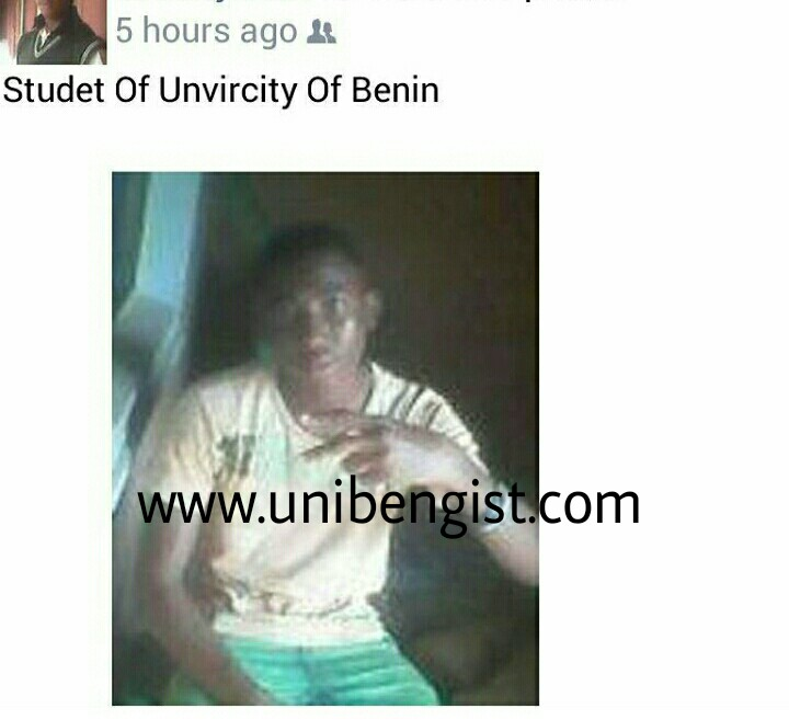 uniben gist did he really gain admission into