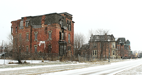 brush park detroit abandoned places