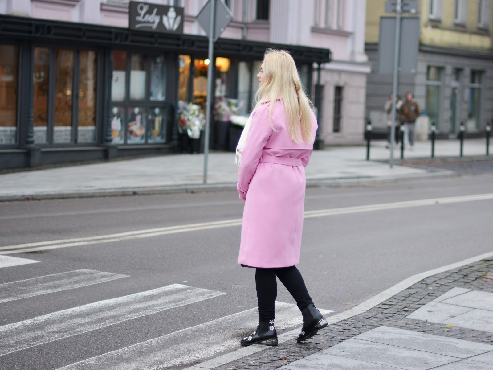 kolorwy płaszcz