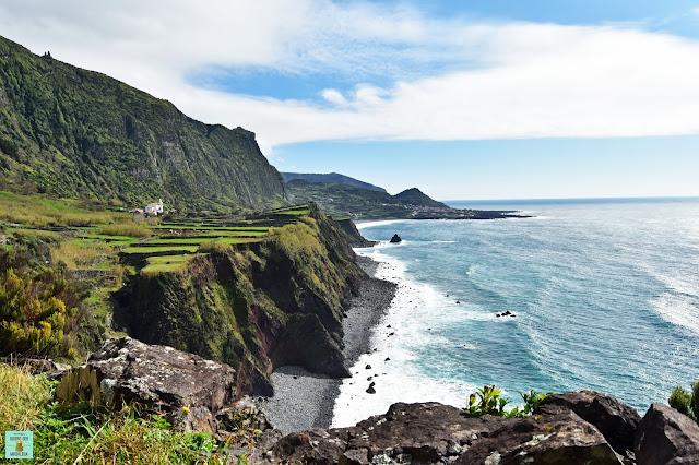 Ponta do Faja, isla de Flores (Azores)