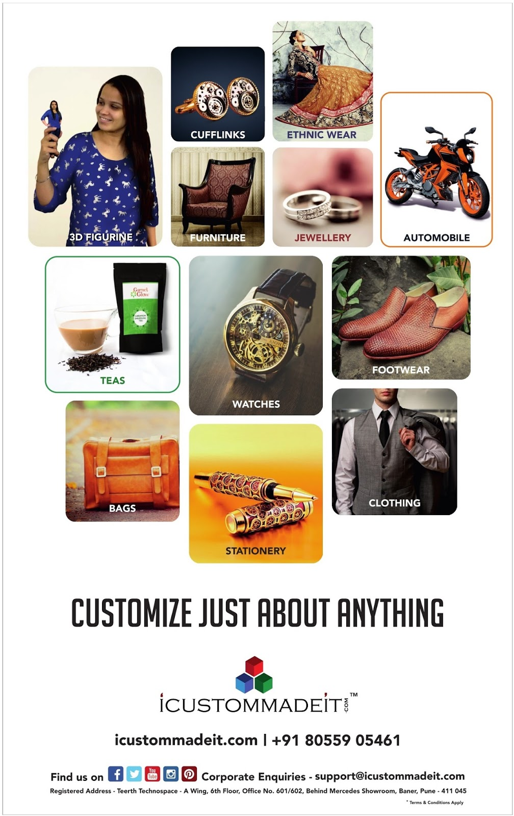 Customize every thing you want | First one in the world | April 2016 discount offer