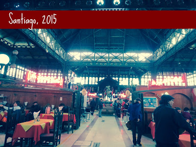 Globetrotting Mom: Where your Love for Fish suffers a hilarious death {Mercado Central Santiago}