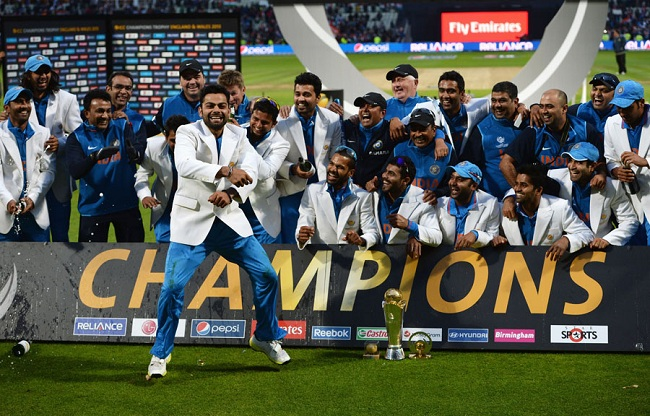 ICC Champions Trophy Winners List All Time