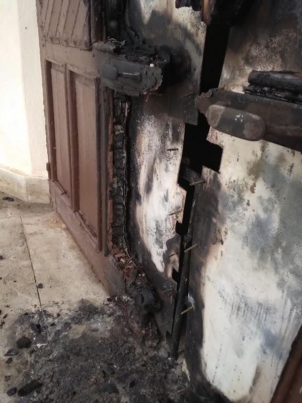 Segundo intento de incendio de la Ermita de Torregarcía