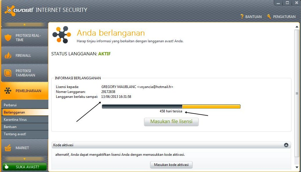 To run avast. Internet Security, your PC must meet the following