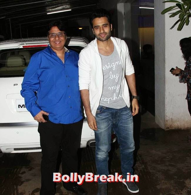 Vashu and Jackky Bhagnani, Marathi Movie Lai Bhaari Premiere Pics