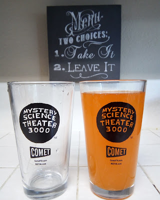Mystery Science Theater 3000 Pint Glasses