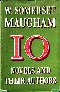 cover of Ten Novels and Their Authors, 1954, by W. Somerset Maugham