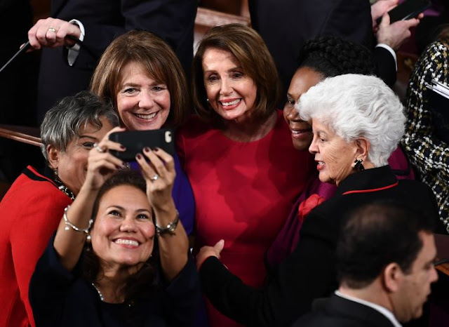 image of Nancy Pelosi the most powerful woman right now in the United States