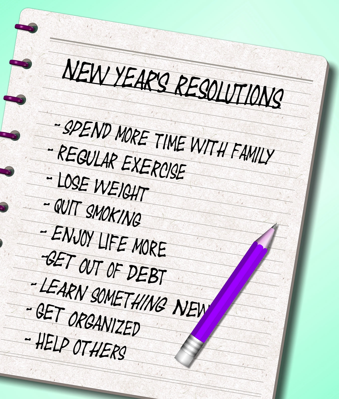 4 Tips to Keep Your New Year's Resolutions by Melinda Curtis