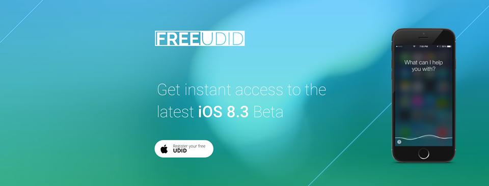 Free UDID
