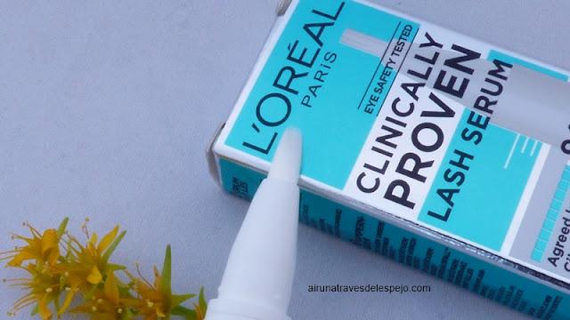 aplicador lash serum loreal
