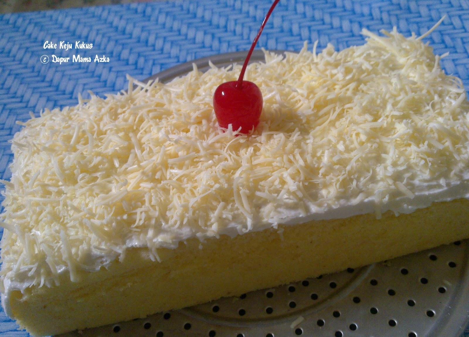 Resep Cake Keju Ncc