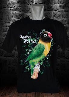 Harga Kaos Burung Lovebird Terbaru Saat Ini Dan Paling Lengkap