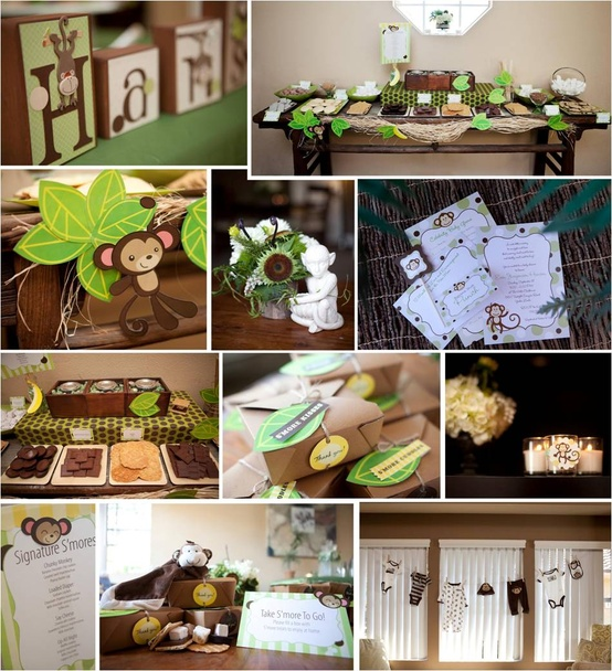 Emma Taylor: Monkey Theme Baby Shower