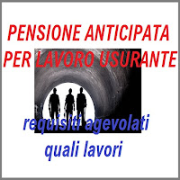 lavori usuranti: requisiti pensione anticipata