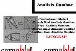 Tes Psikotes Analisis Gambar || Penjelasan Materi, Contoh Soal, Latihan Soal dan Pembahasan