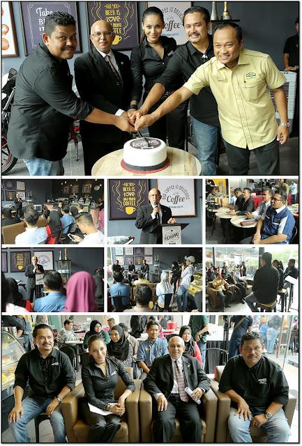 UUM Pilihan Raja Ilya Lancar Richiamo Coffee Pertama Di Malaysia
