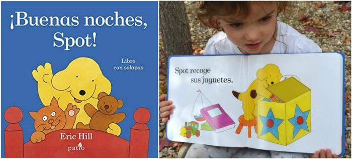 cuentos infantiles recomendados de 0 a 3 años edad buenas noches spot patio editorial