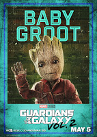 Guardians of the Galaxy Vol. 2 Movie Poster 9 Vin Diesel