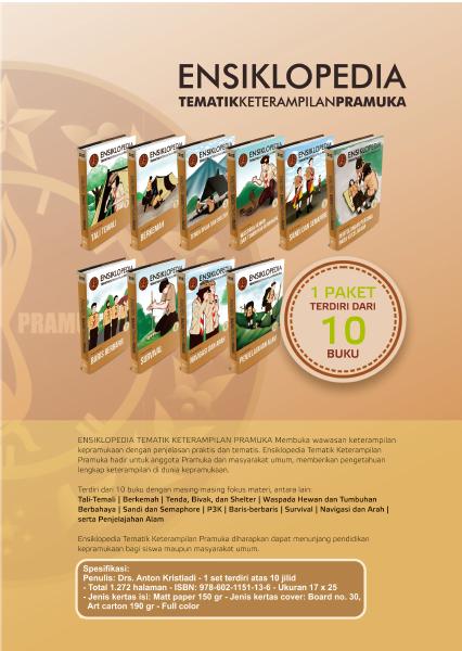 Jual Buku Ensiklopedia Tematik Keterampilan Pramuka