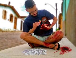 só Jesus preenche o vazio renovando meu amor por Cristo coração sangrando precisando de Deus