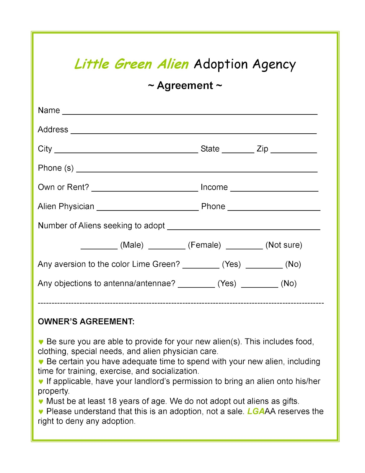 Adoption essay