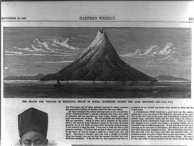 10 Fakta Gunung Krakatau Yang Memiliki Letusan Paling dahsyat Dalam Sejarah