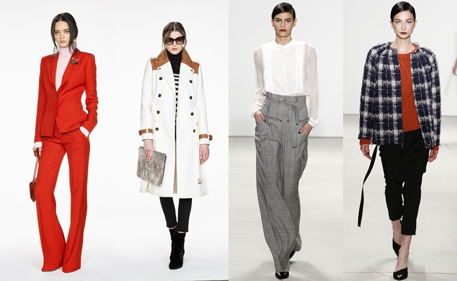 Best of New York Fashion week fall 2016.Fall 2016:Banana Republic,Marissa Webb.