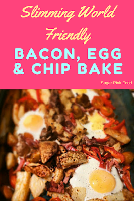 Bacon, Egg & Chip Bake