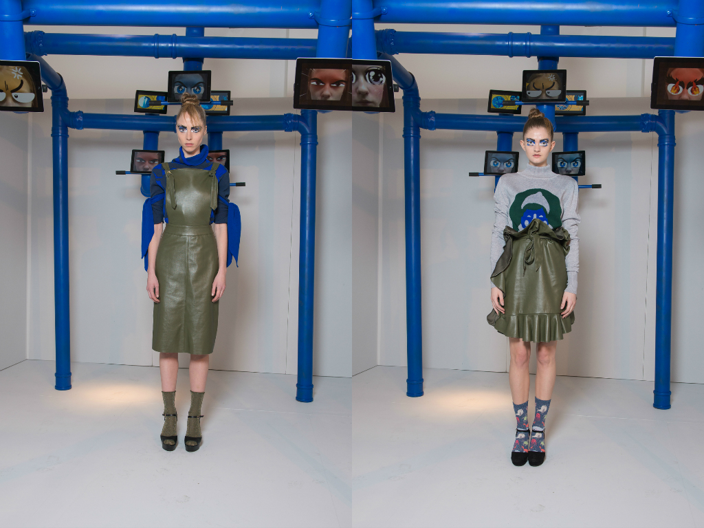 Ana Maddock- London Fashion Week AW 16-17 Gabriel Vielma Images by Iker Aldama