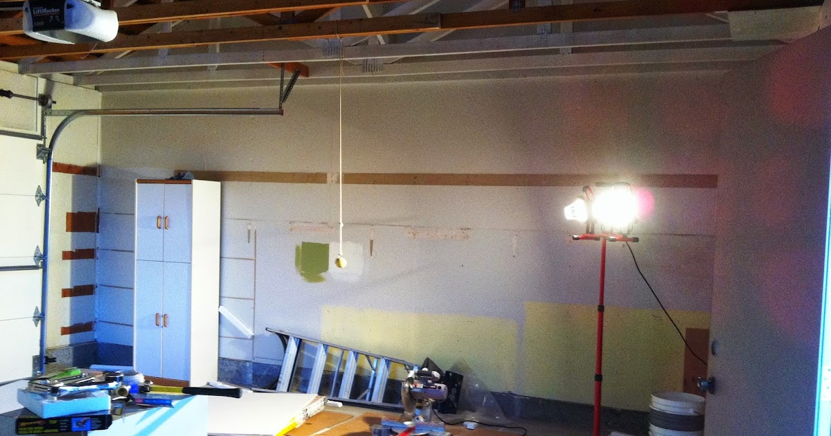 Diy Dithering Drywalling A Garage And Arched Window