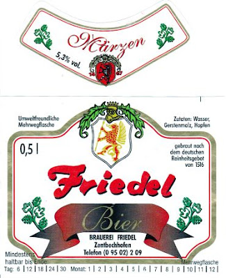 Brauerei Friedel/Zentbechhofen: Märzen (Nr. 62)