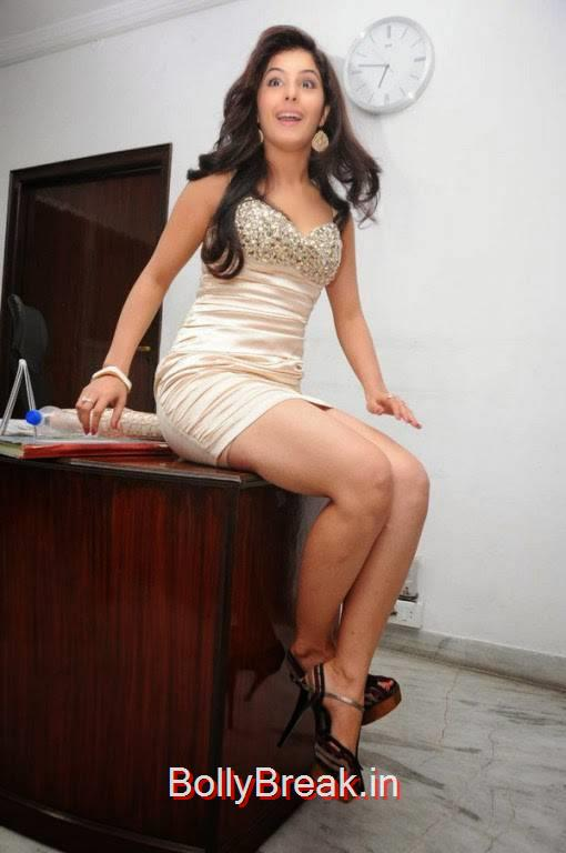 , Isha Talwar Hot Pics In Cream Skirt