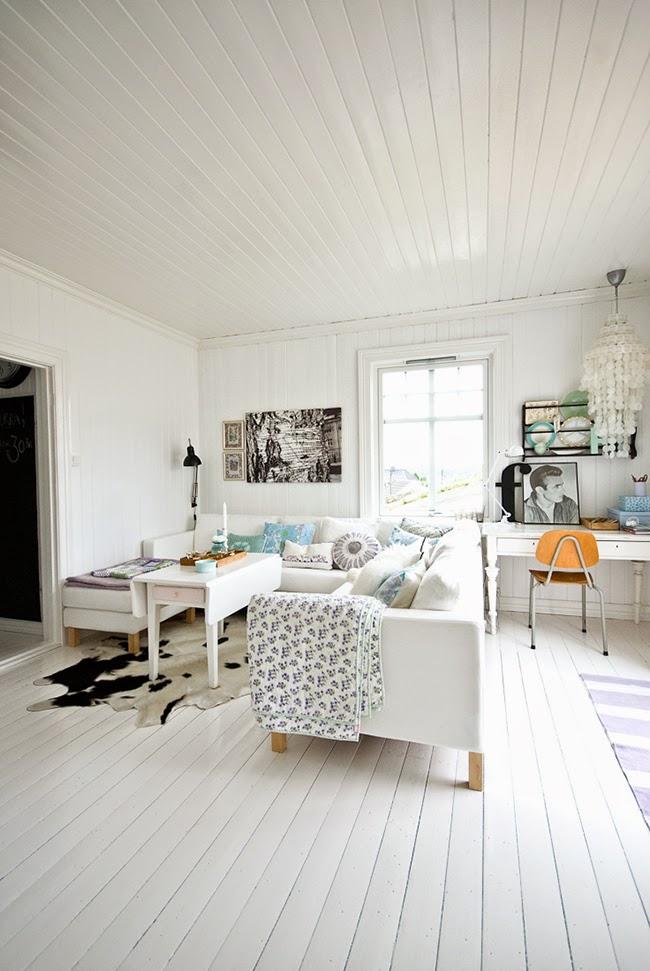 Una CASA REAL escandinava decorada en colores pastel  Boho Deco Chic