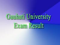 Gauhati University Result 2017 @ gauhati.ac.in