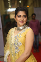 Nivetha Thamos in bright yellow dress at Ninnu Kori pre release function ~  Exclusive (44).JPG