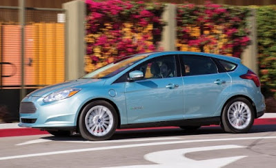 2017 Ford Focus Electric Range