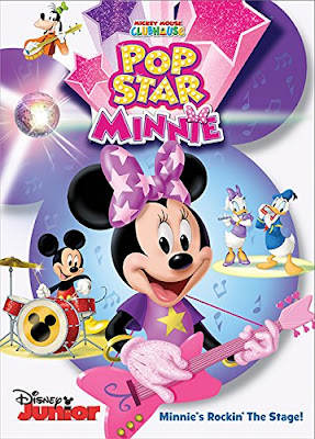 Mickey Mouse Clubhouse Pop Star Minnie 2016 DVD R1 NTSC Latino