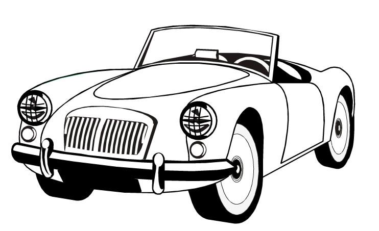 Desenho Para Colorir De Carros Disney: Baú Da Web: Desenhos De Carros Para Colorir