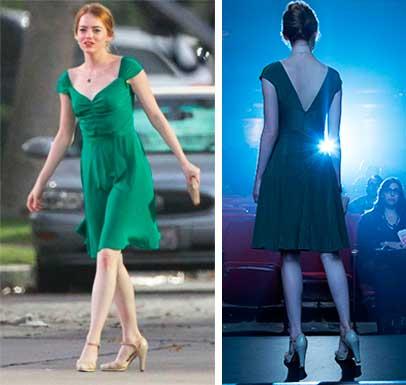 La La Land, figurino Mia (Emma Stone)