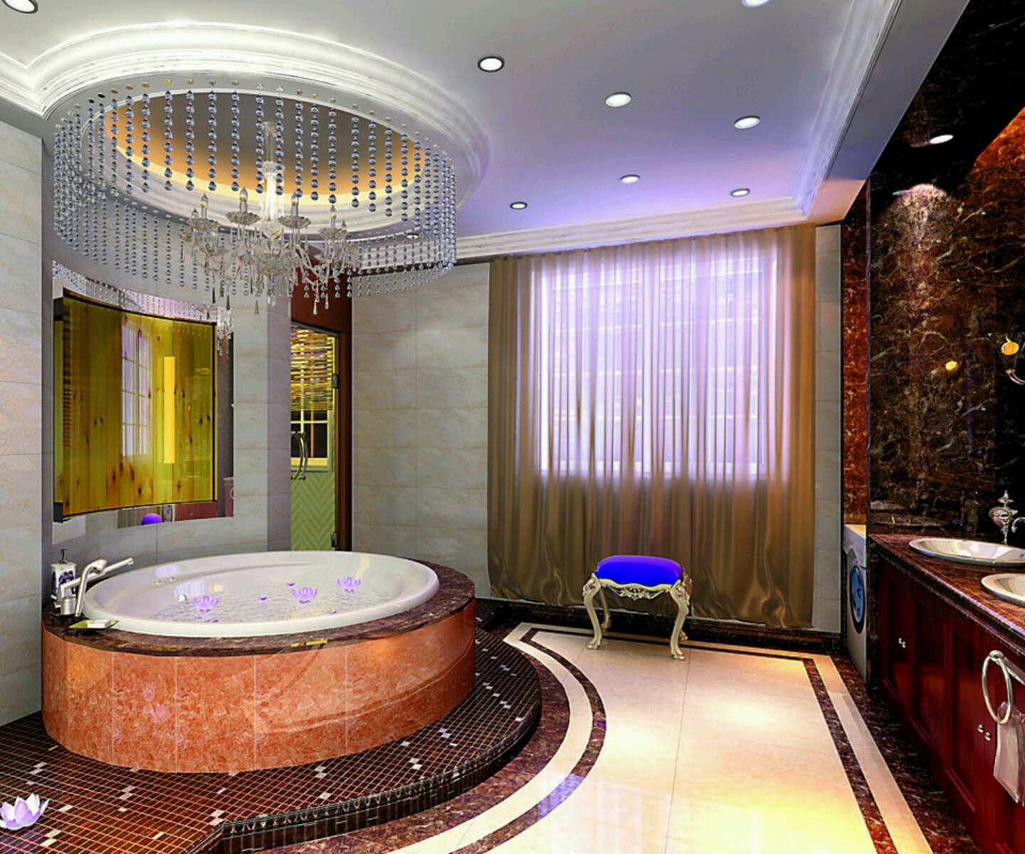 Cool bathrooms designs hd wallpapers 2015 for Bathroom designs hd images