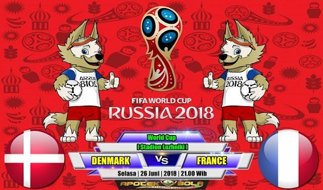 Prediksi Denmark vs France 26 Juni 2018