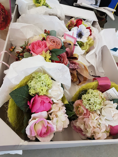 faux botanical wedding bouquets at The Camellia Thunder Bay