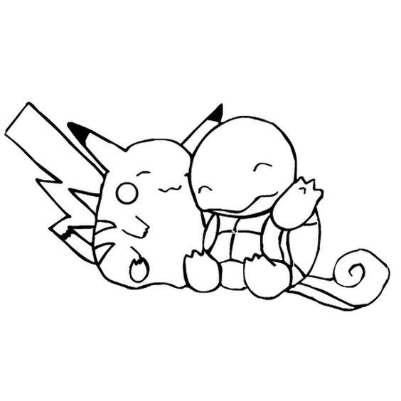 Tranh tô màu Pokemon 12