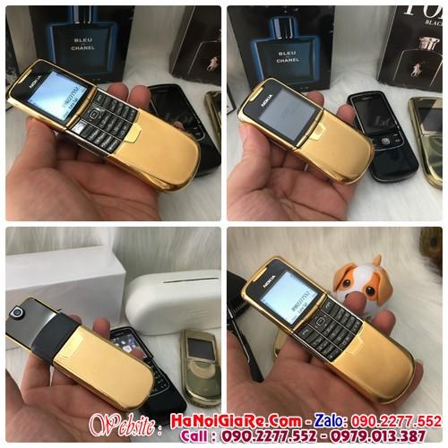 Nokia 8800 gold chính hãng giá 3,8tr và địa chỉ bán điện thoại cổ độc tại đường tân an bình