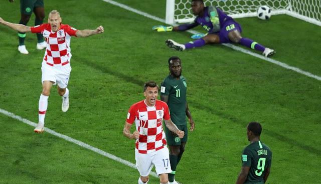 Hasil Kroasia vs Nigeria Skor Akhir 2-0 | Fase Group D World Cup 2018