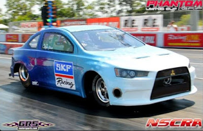 Mitsubishi Lancer Evo Drag Racing Version