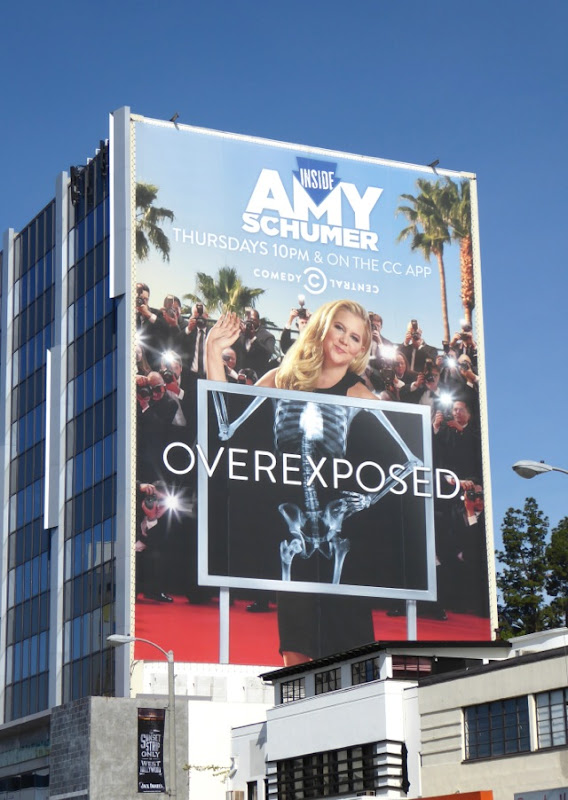 Giant Inside Amy Schumer season 4 Overexposed billboard