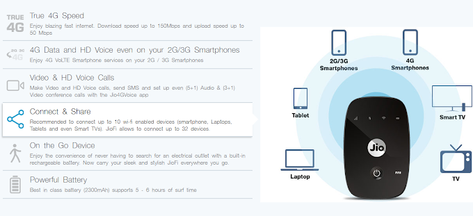 Connect JioFi With PC Using USB or Wirelessly